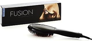 Fusion Ceramic Hair Straightening Brush in Black