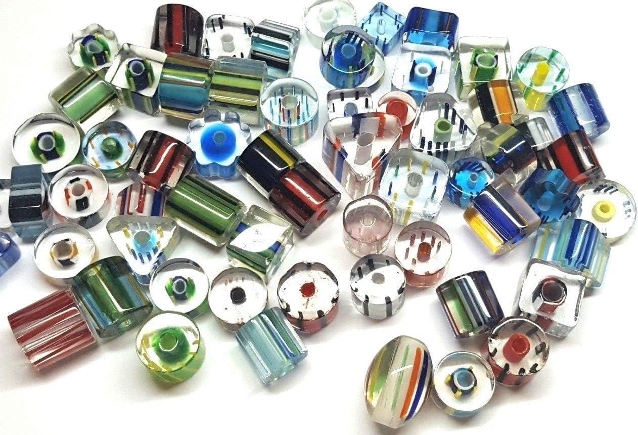 12 oz Avocado Chubs ~ Furnace Art Glass Beads