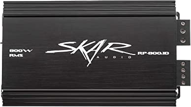 Skar Audio RP-800.1D Monoblock Class D MOSFET Amplifier with Remote Subwoofer Level Control, 800W