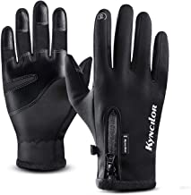 Thiroom Winter Gloves Touch Screen Gloves Men Women Windproof Waterproof Warm Gloves