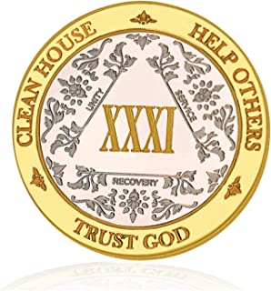 aa one year coin