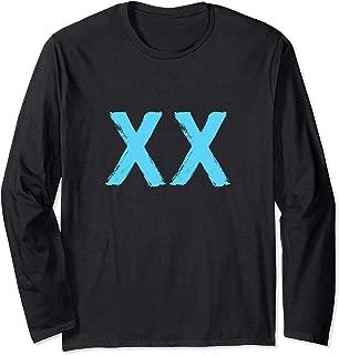 DNA Molecule XX Female Chromosome Biotechnology Long Sleeve T-Shirt