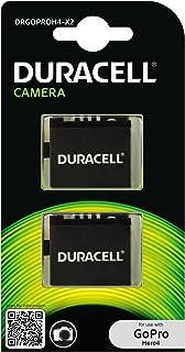 Duracell Drgoproh4 - Lote de 2baterías para GoPro Hero 4AHDBT-401 Negras