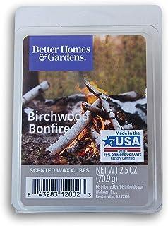 Seasonal Décor Better Homes and Gardens Scented Wax Cubes - Birchwood Bonfire