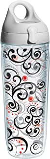 featured product Tervis Berry Swirlwind Wrap Water Bottle with Grey Lid, 24-Ounce, Garden Party - 1166108