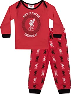f1d9212e7644d Liverpool FC Officiel - Pyjama thème Football - garçon Enfant bébé