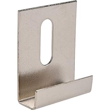 Hillman 54117 Wide Channel Metal Mirror Clips 1 4 X 1 X 1 1 2 15 Pieces Amazon Com