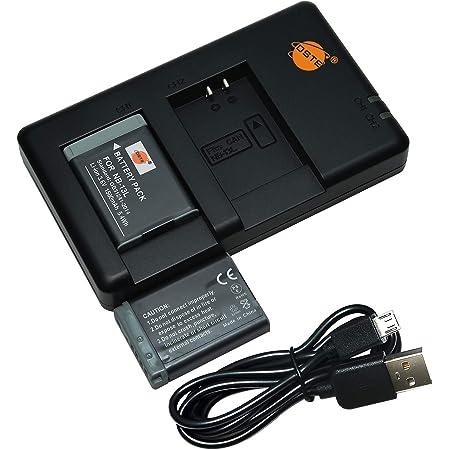 Dste 2pcs Nb 13l Batterie Ladegerät Compatible Für Kamera