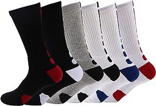 Men's Cushioned Crew Socks Basketball Sports Sock