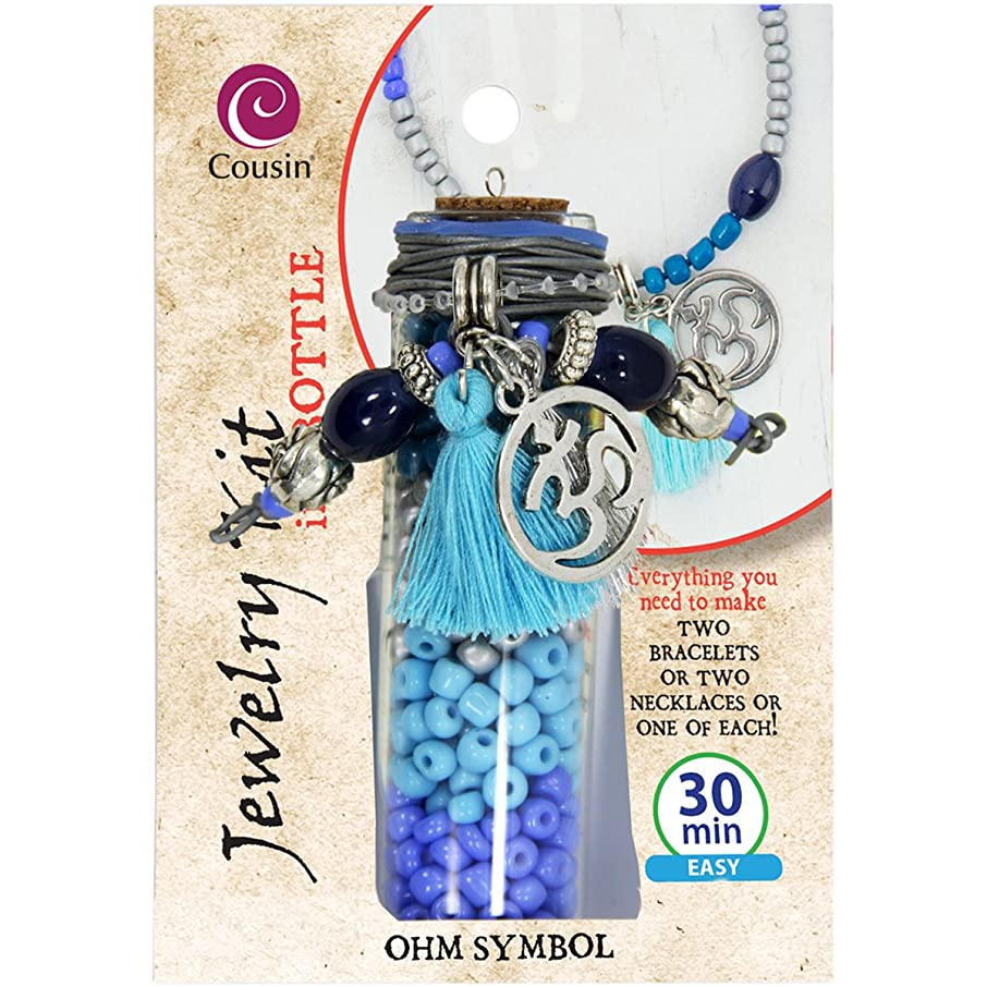 Cousin 30308002 Jewelry Kit in A Bottle-Ohm Symbol