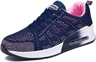 Youecci Donna Scarpe da Ginnastica Corsa Sportive Fitness Running Sneakers Lacci Traspirante Mesh Allacciare Atletica Camm...