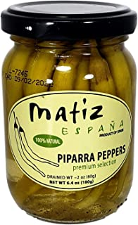 Matiz Pipparras, Basque Green Peppers, 6.4 Ounce
