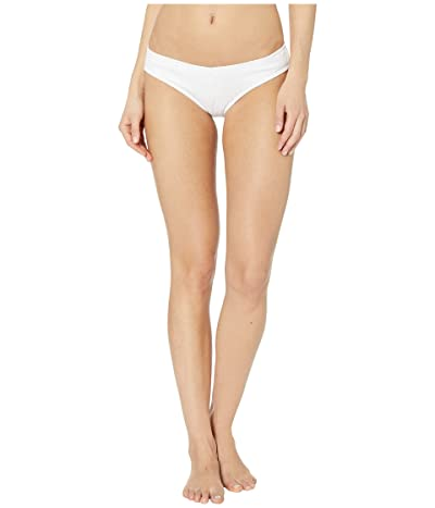 Roxy Tidal Times Regular Swim Bottoms (Bright White) Women