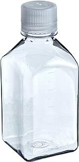 Nalgene 2015-1000 Square Bottle, Polycarbonate, 1000mL (Pack of 4)