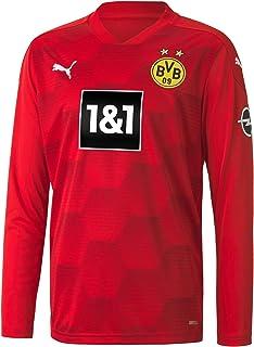 PUMA Unisex, BVB GK Shirt Replica LS Jr w.Sponsor new Torwarttrikot