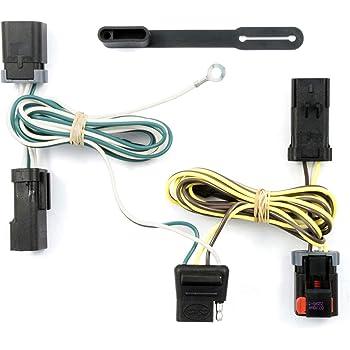 amazon.com: curt 55537 vehicle-side custom 4-pin trailer wiring harness for  select chrysler, dodge, plymouth minivans: automotive  amazon.com