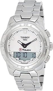 Tissot - Reloj Analógico-Digital para Mujer de Cuarzo con Correa en Acero Inoxidable T047.220.44.116.00