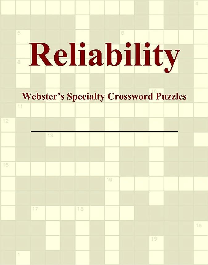 毛布トラック驚いたことにReliability - Webster's Specialty Crossword Puzzles