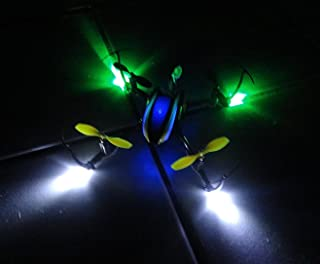 Apex RC Products LED Light Kit Blade Nano QX Navigation Lights 9050GW