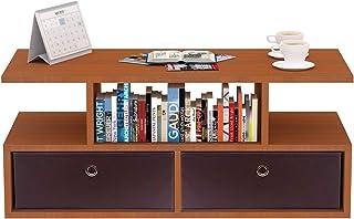 Klaxon Keelan1 Engineered Wood Coffee Table/Centre Table, Tea Table (Cherry)
