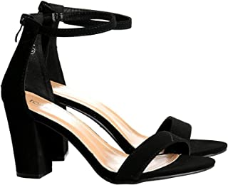 Womens Hannah Open Toe Casual Ankle Strap Sandals