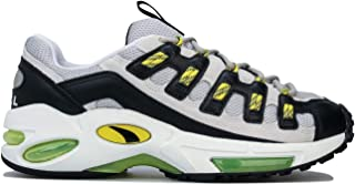 PUMA Womens Cell Endura Trainers Sneakers in White/Blazing Yellow.