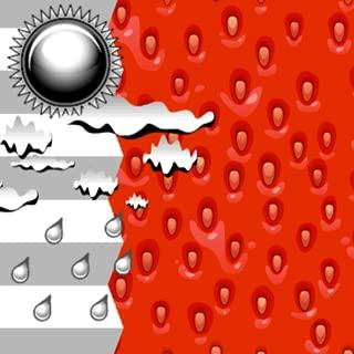Clock Weather Strawberry