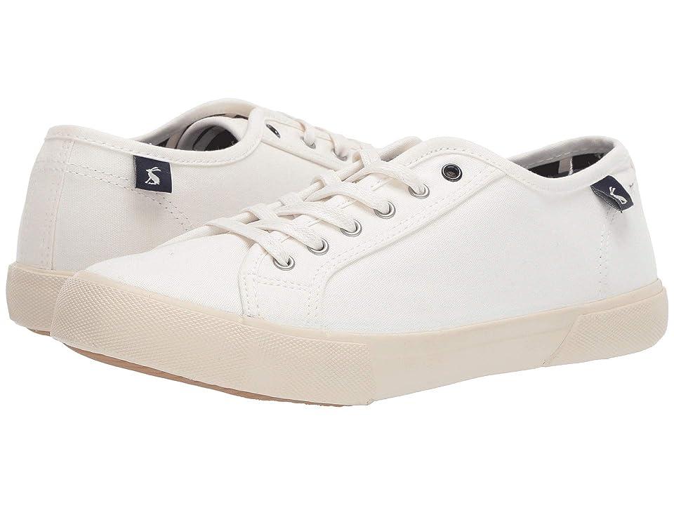 Joules Coast Pump (White) High Heels