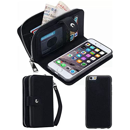 buy popular 1f46e 29ad2 iPhone 5 Wallet Case with Strap: Amazon.com