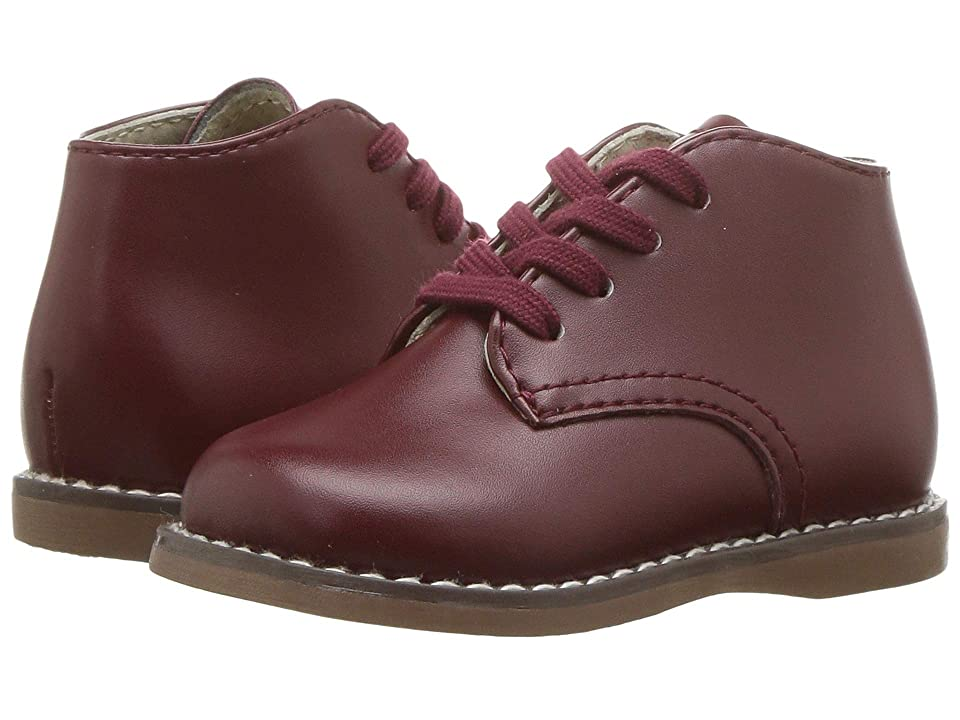 FootMates Todd 3 (Infant/Toddler) (Burgundy) Kids Shoes