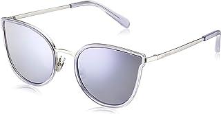 Fossil Women's Fos 2087/S Sunglasses, Multicolour (Lil Silv), 55