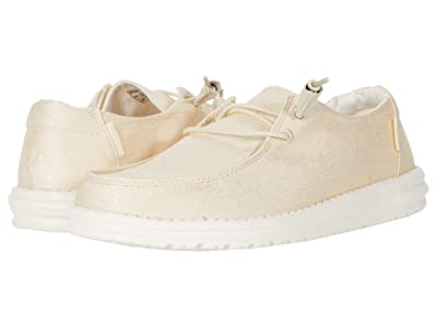 Hey Dude Wendy Linen (Satin/Beige) Women