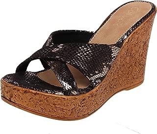 Catwalk Women's Bronze Fashion Sandals