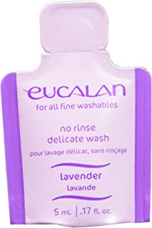 Eucalan Fine Fabric Wash 0.17ounce Single Use Pod Lavender, 25-Pack