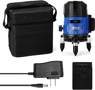 Sunbaca Teclas tocadas Multifuncional 3 Green Line Leveler Instrumento de medição de nível de autonivelamento de 360 graus