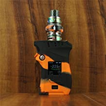 ModShield for Smok MAG 225W TC Right Handed Edition Silicone Case ByJojo Sleeve Cover Shield Wrap Skin (Orange/Black)