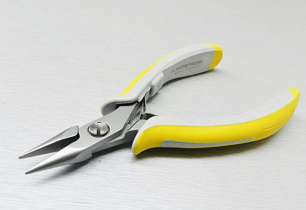LINDSTROM 7893 EX SERIES PLIERS 7893EX CHAIN NOSE PLIER PRECISION SWISS MADE (E 3) NOVELTOOLS