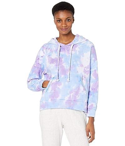FP Movement Tie-Dye Work It Out Hoodie (Purple Tie-Dye) Women