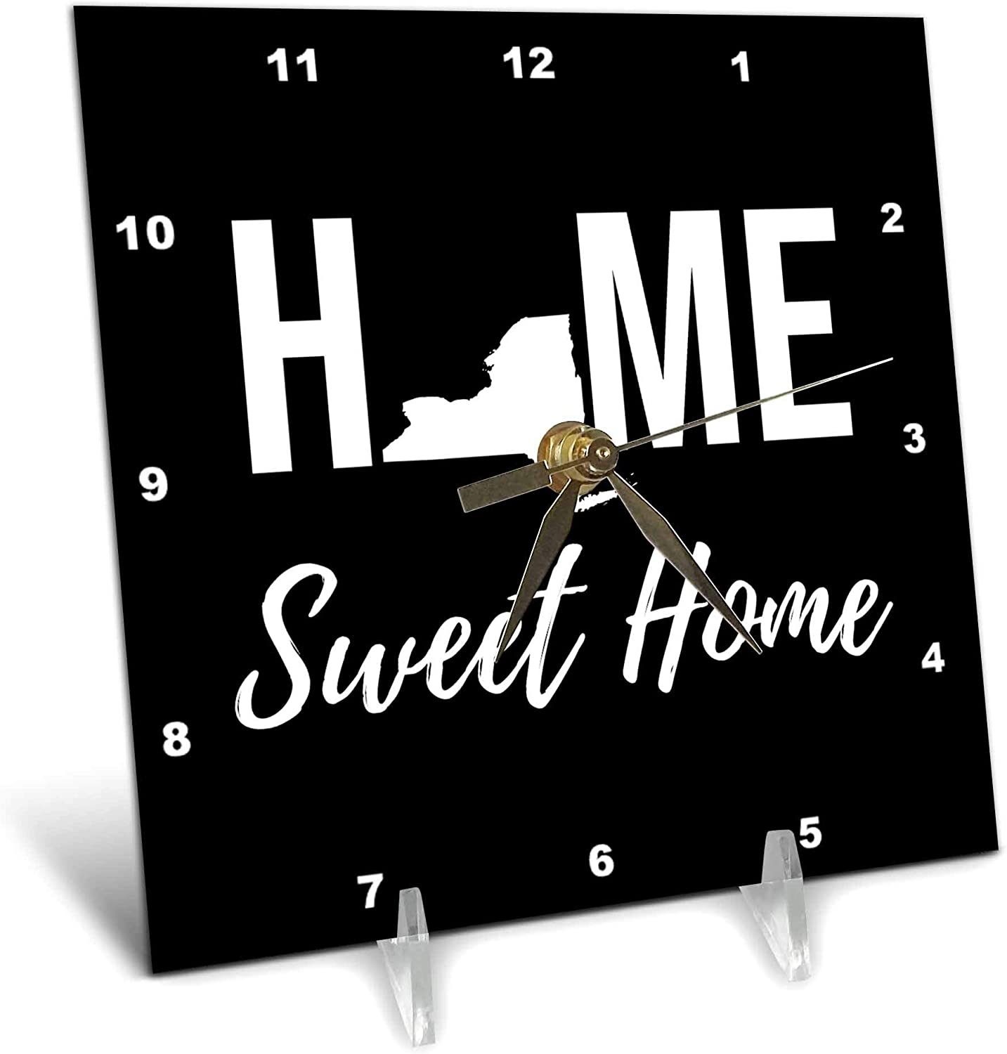 3dRose Stamp City Topics on TV - Typography Home York Sweet OFFicial store New State Home.