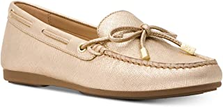 Michael Michael Kors Womens Sutton Moc Leather Padded Insole Moccasins