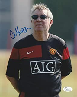 Sir Alex Ferguson Autographed Signed Memorabilia Manchester United 8x10 Photo Proof - JSA Authentic