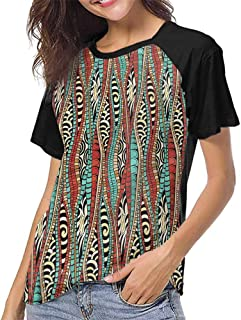 Graphic T-Shirt,Abstract,Kaleidoscopic Floral S-XXL T Shirt Female Tight