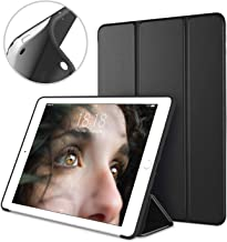 DTTO Mini Case for iPad Mini 3/2/1, (Not Compatible with Mini 5th Generation 2019) Ultra Slim Lightweight Smart Case Trifold Cover Stand with Flexible Soft TPU Back Cover [Auto Sleep/Wake],Black