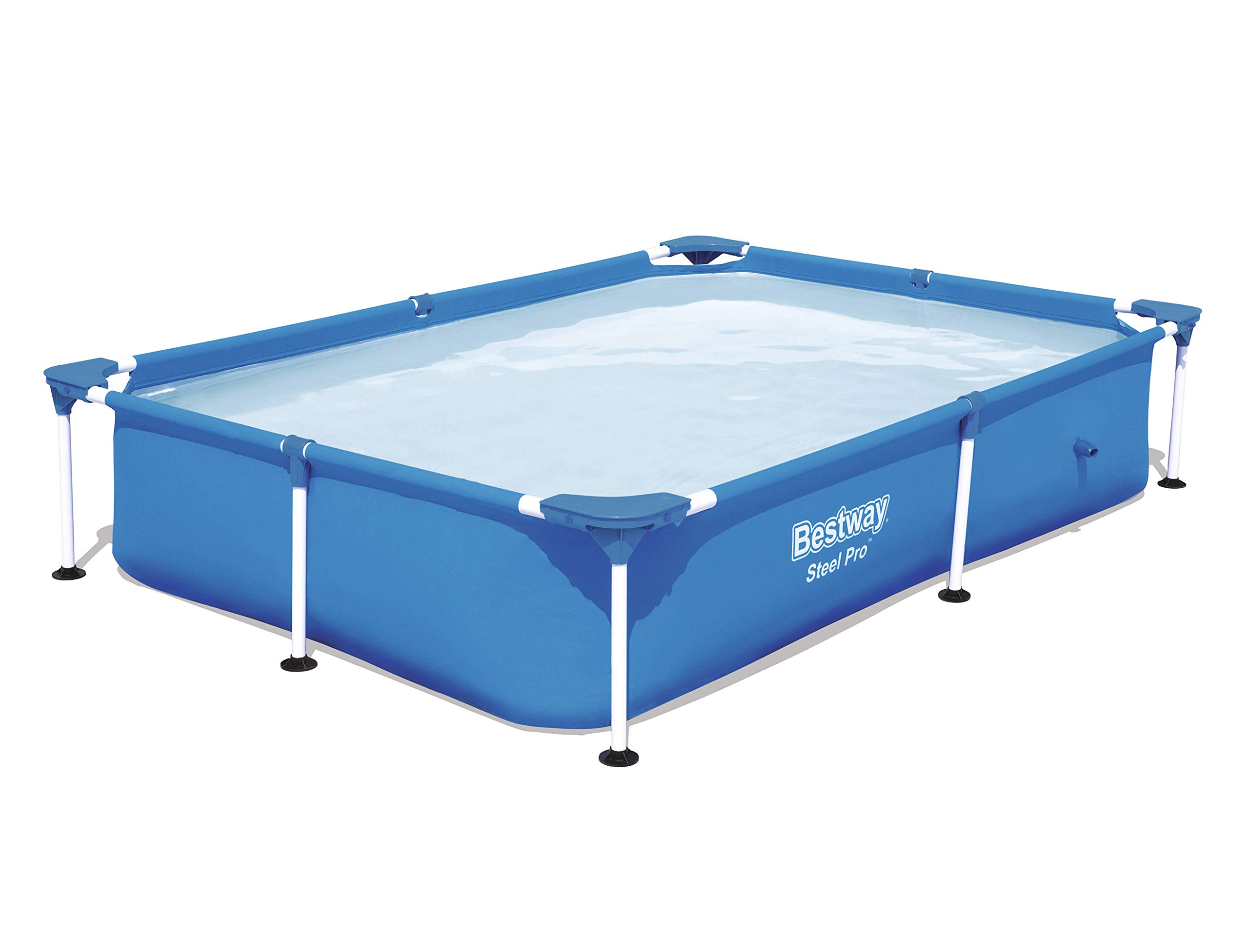 7 in1 Set Splash Frame Pool 239 x 150 x 58 cm Bestway 56402 con ...