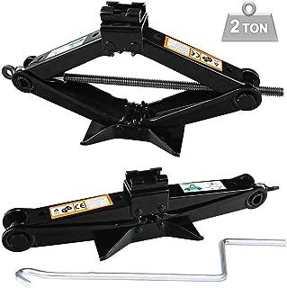 2 Ton Scissor Floor Jack for Car/Travel Trailer/Truck/SUV/UTV With Speed Handle Floor Jack Steel