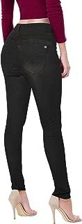 Women's Butt Lift V2 Super Comfy Stretch Denim Skinny Jeans, Capri, Bermuda