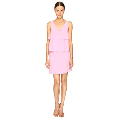 Boutique Moschino Tiered Ruffle Dress (Pink 1) Women