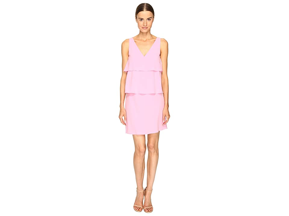 Boutique Moschino Tiered Ruffle Dress (Pink 1) Women