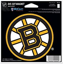 WinCraft Boston Bruins Official NHL 4.5 inch x 6 inch Car Magnet by 285263