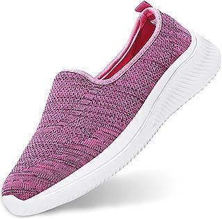 Gaatpot Donna Sneaker Casual Slip On Scarpe da Camminata Mesh Scarpe da Corsa su Strada Interno Esterno Scarpe 34.5-43EU